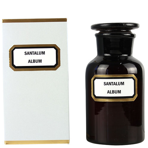 Apothecary Candle Sandalwood - Amber Small