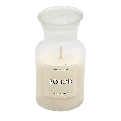 De Base Bougie Clear Candle - Med Fig