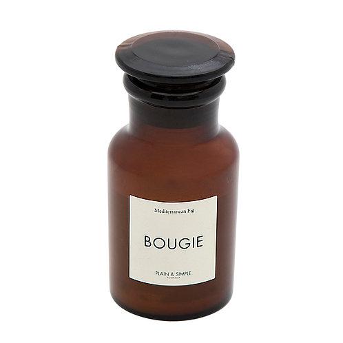 De Base Bougie Amber Candle - Med Fig