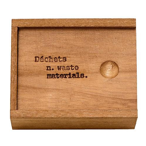 Wooden Duchets ~ Waste Box