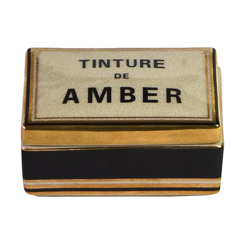 Amber Tinture Candle - Small