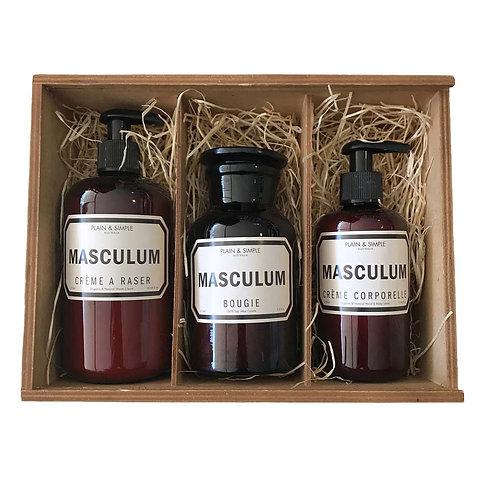 #10 Gift Box - Masculum Set
