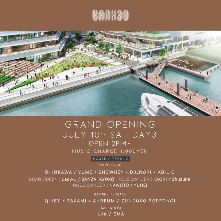 BANK30 GRAND OPENING DAY3
