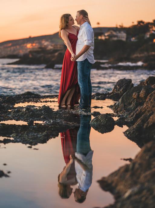 Victora Beach at Sunset