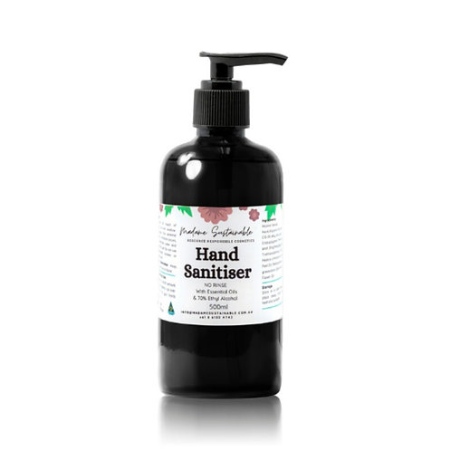 500mL - Hand Sanitiser (Alcohol-based)