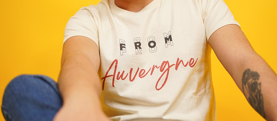 T-shirt BIO Auvergne naturel