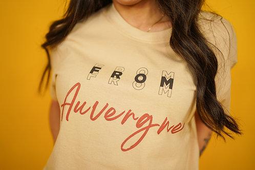 T-shirt Auvergne sable