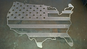 U.S Silhouette