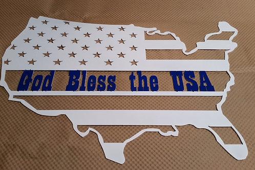 "U.S ""God Bless The USA"""