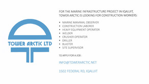 Tower Arctic Is Looking For Workers!