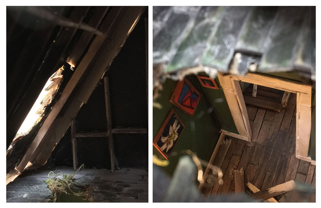 Detail 3: Hole in Roof