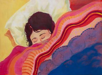 Sleeping Michele