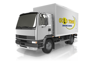 MR truck gold town driving school