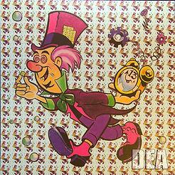 LSD Blotter Sheet