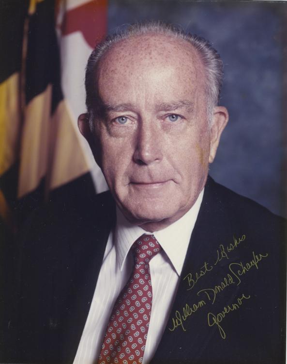 Former MD Gov. William Schaefer