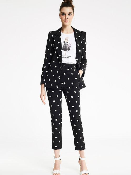 Pantalones Estampado Estrellas y Lunares