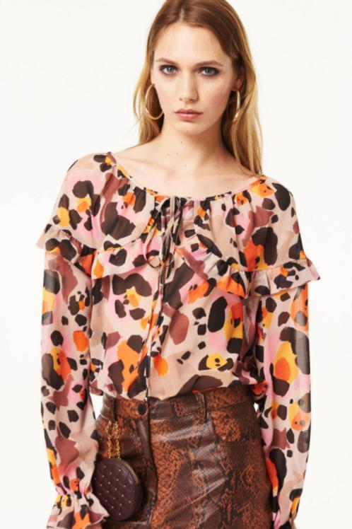 Camisa Estampado Animal Print
