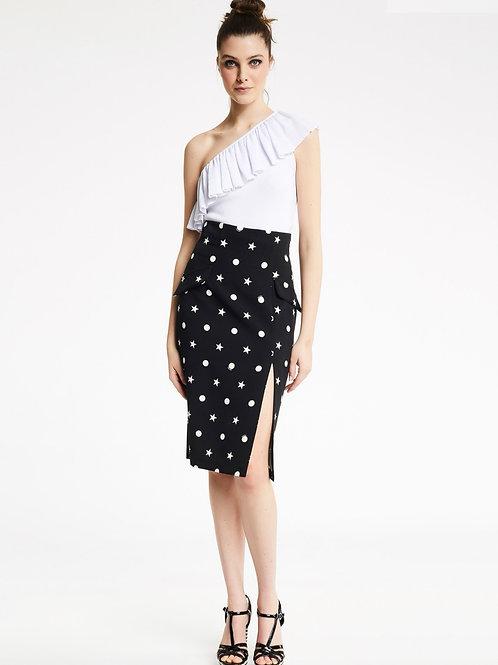 Falda Estampado Estrellas