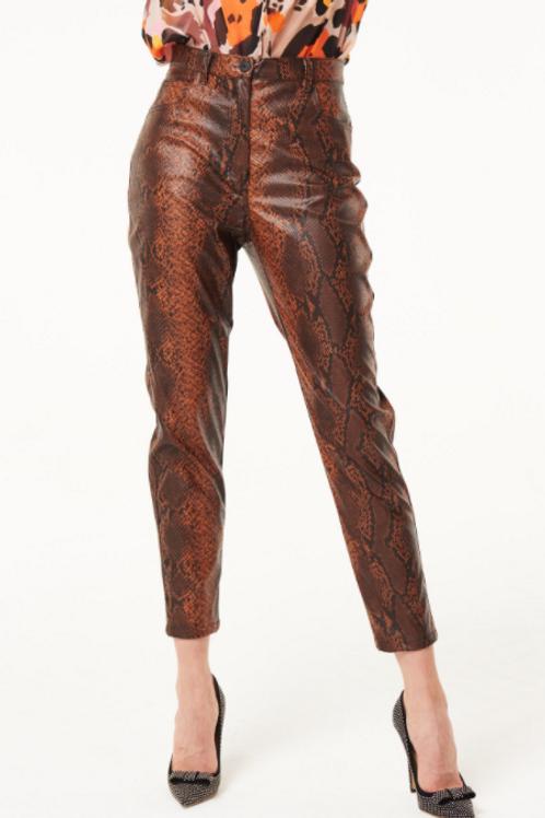 Pantalón Tejido Animal Print