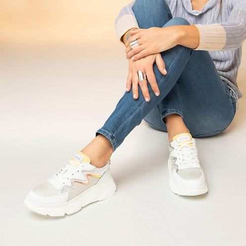 Sneakers Piel y Ante