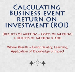 Calculating the ROI of Your Business Event