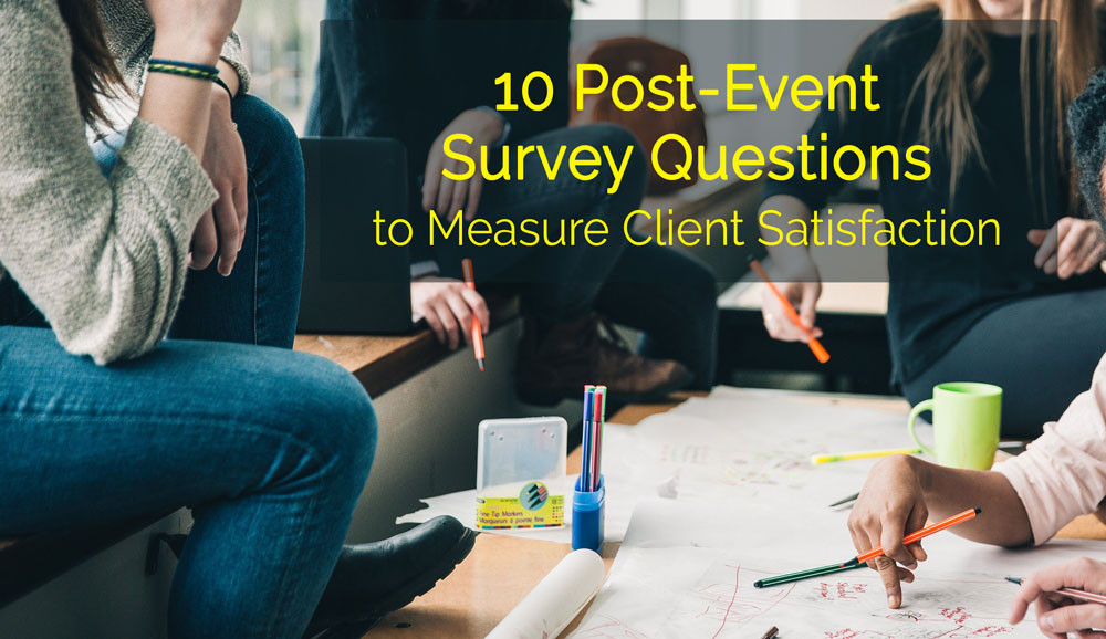 event survey questions