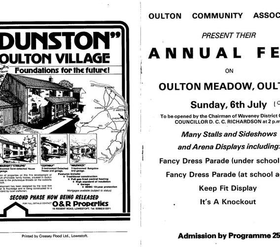 Oulton Village Fete 1983 - Part 1