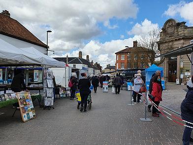 Fakenham Thursday Market Stalls