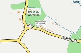 Bradfield Common Map