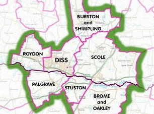 Diss District Neighbourhood Area