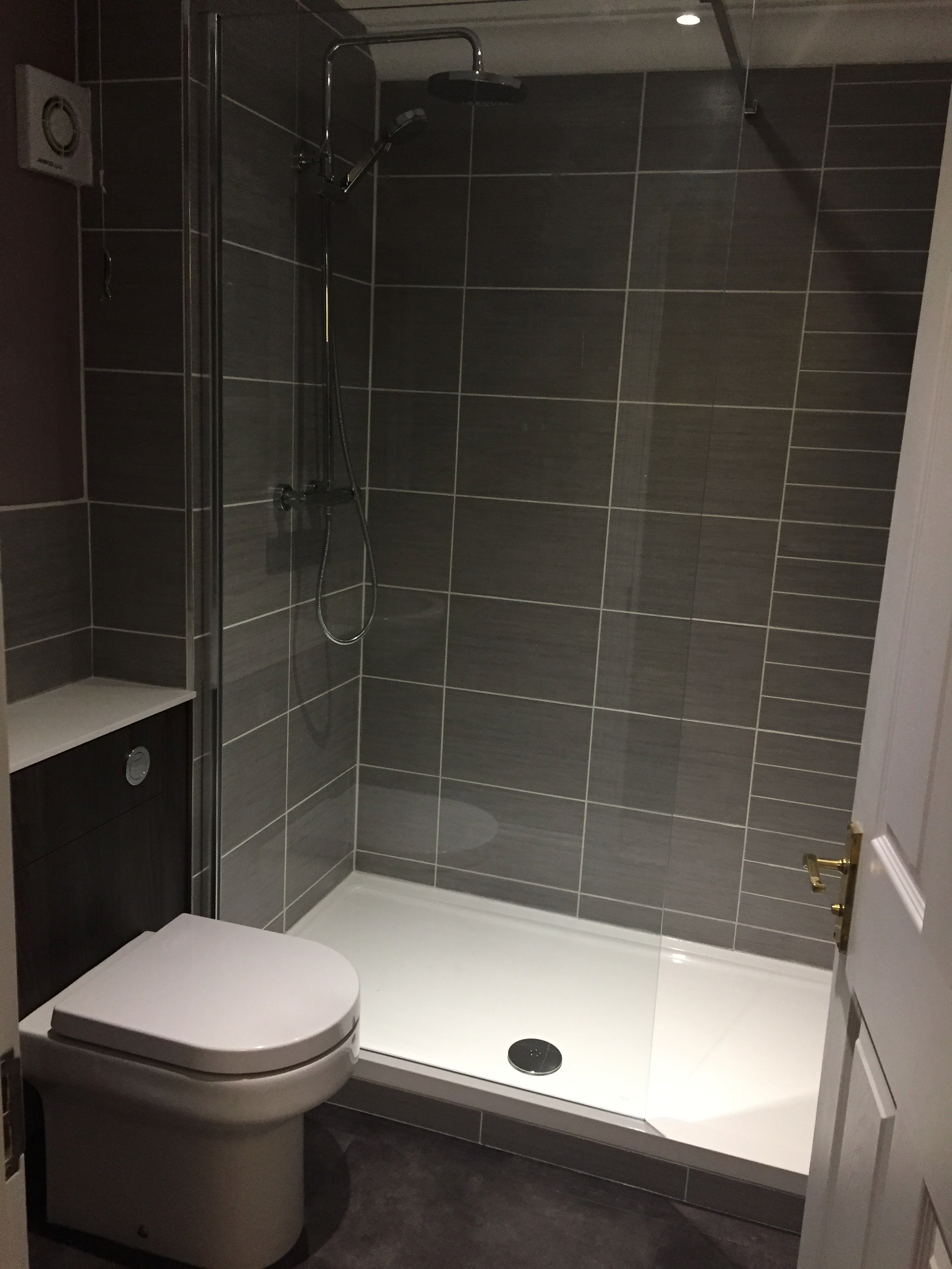 Ensuite shower room refit