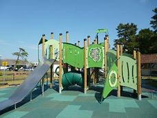 Nicholas Everitt Park Play Area Slides