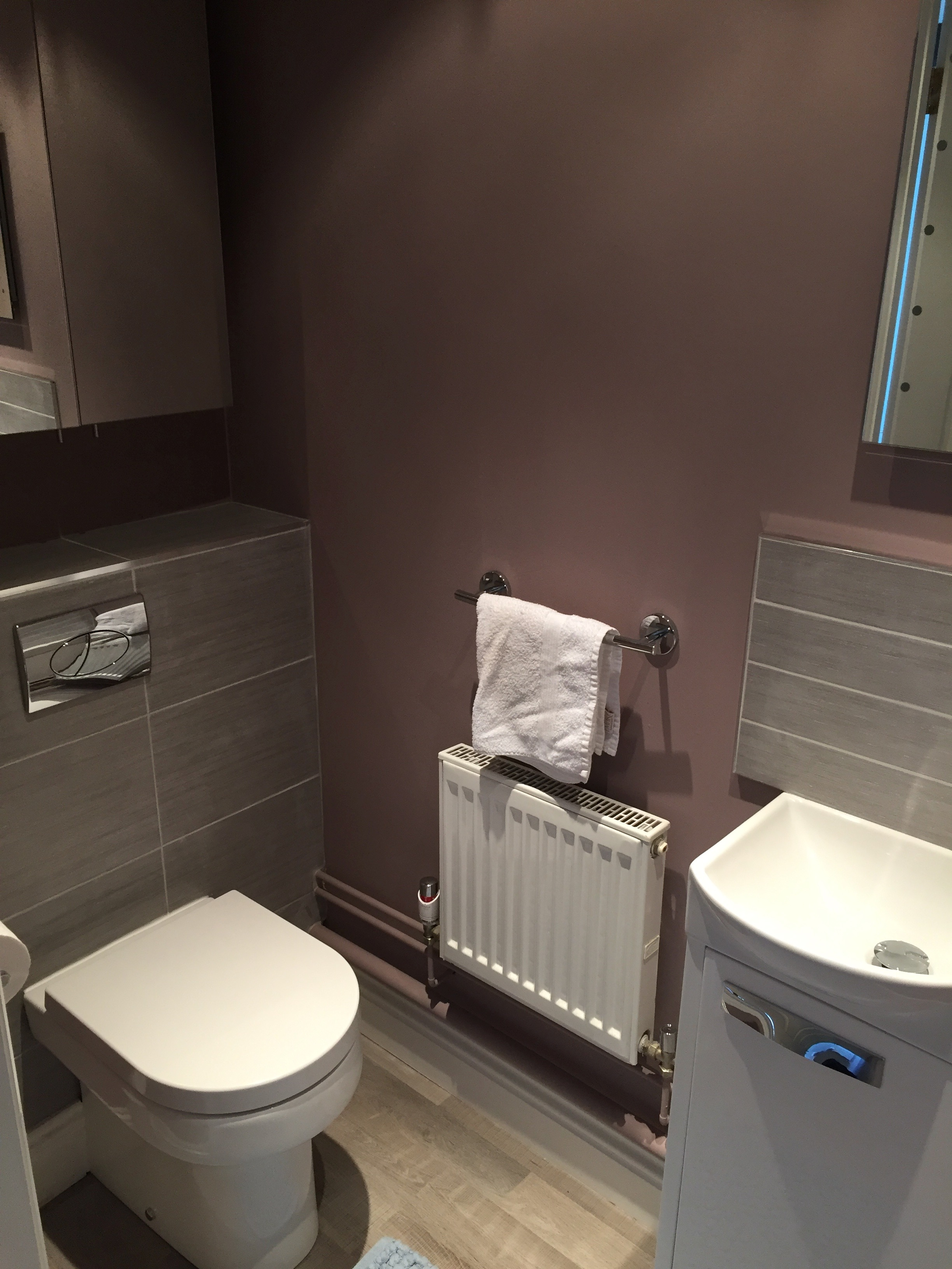 Cloakroom refurbishment