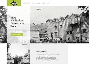 Bure Nature Conservation Trust Website