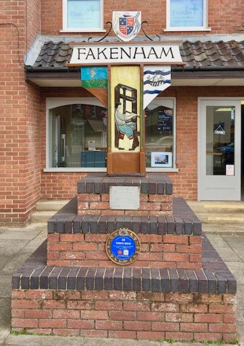 Fakenham Town Sign