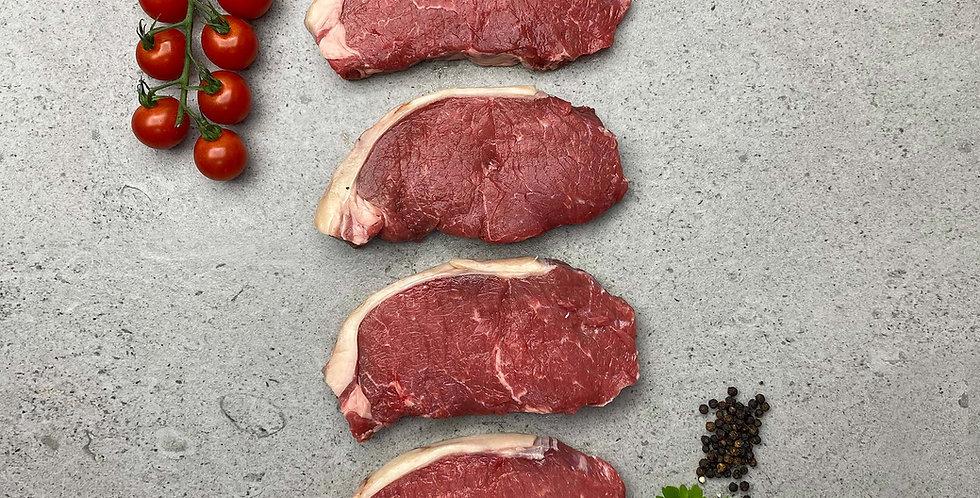 Beef Sirloin Steaks 4 x 6-7oz