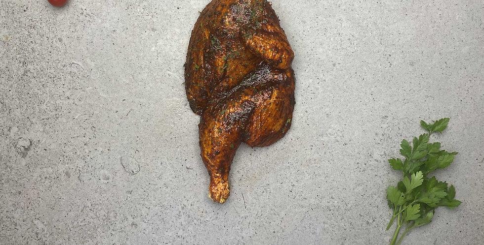 Chicken - Half chicken in Jamaican Jerk spices