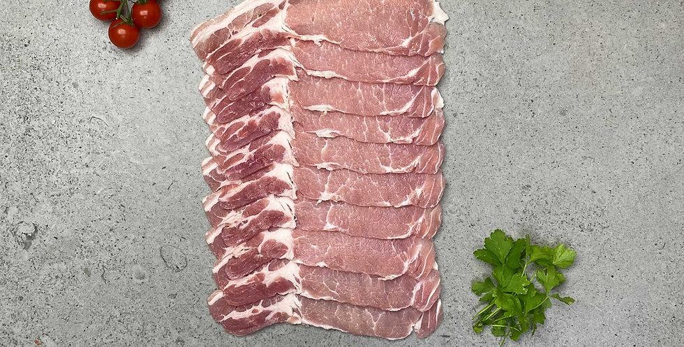 Bacon Short Back 454g
