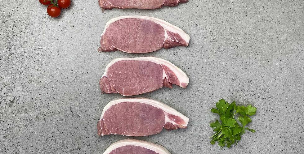 Bacon Chops 5 x 170g