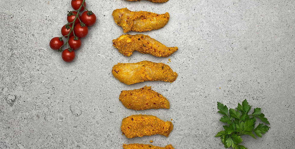 Chicken Strips Bombay Coated 454g