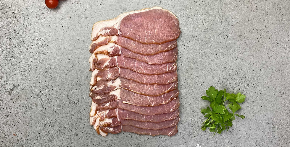 Bacon Smoked Short Back 454g