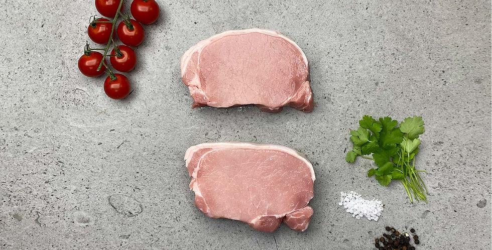 Pork Loin Steaks 2 x 200g