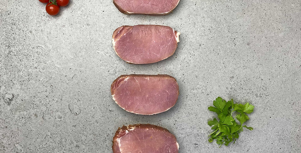 Bacon Maple Loin Steaks 4 x 170g