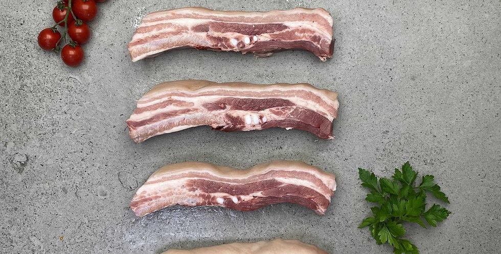 Pork Belly Slices 1kg