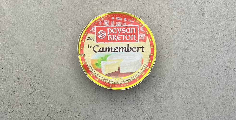 Camembert Cheese a Dipping Pot for Two