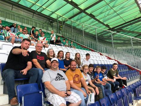 Besuch des SK Rapid Wien Spiels