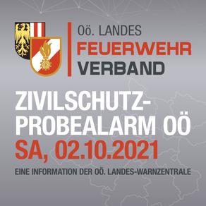 Zivilschutz-Probealarm am 2.Oktober