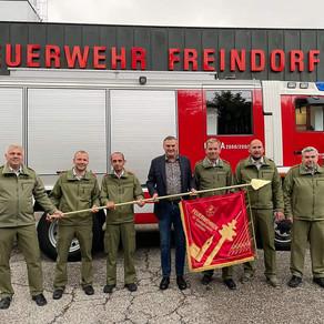 Feuerwehrfahne für den Pflichtbereich