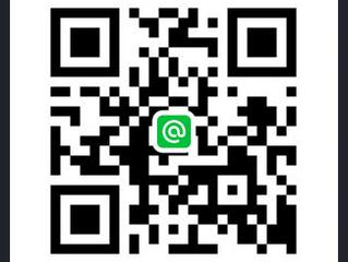 Line@で友達登録してね!