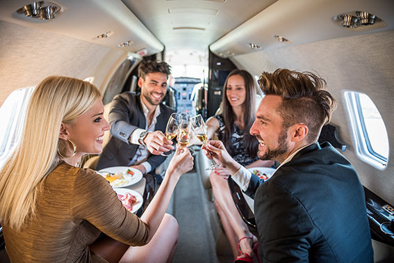 Luxury Jet Scenic Flight